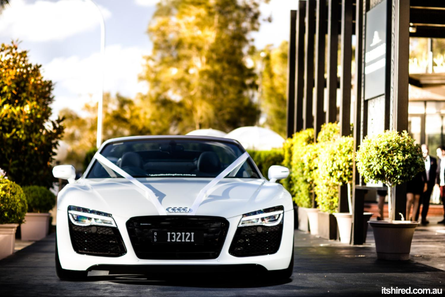 Audi R8 Wedding Car Hire Sydney | Astra Wedding Cars
