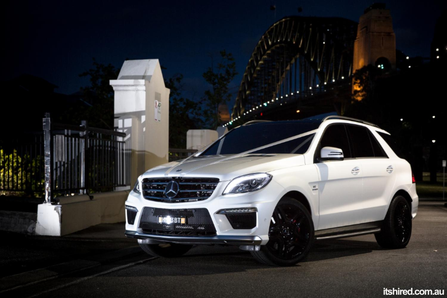 Mercedes M-Class Wedding Car Hire Sydney Astra Wedding Cars