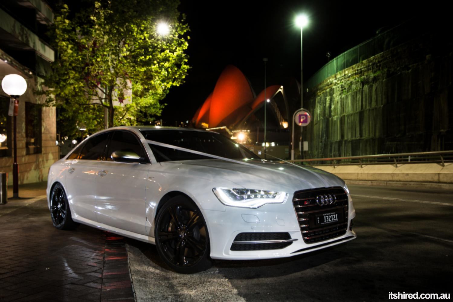 Audi S6 Wedding Car Hire Sydney Astra Wedding Cars