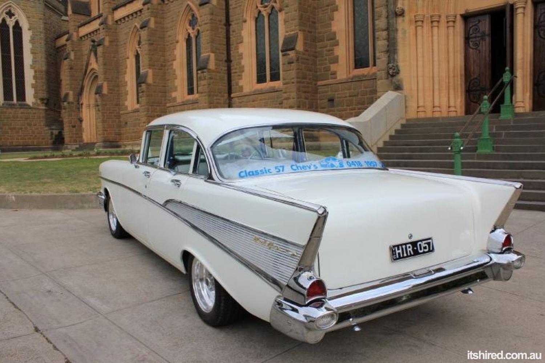 Chevrolet Bel Air Wedding Car Hire Melbourne   Classic 57 Chevs ...