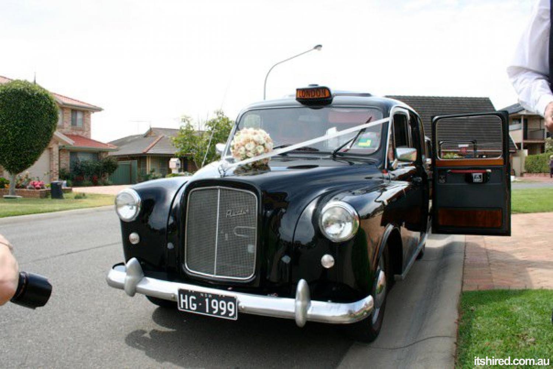 Austin FX4 Wedding Car Hire Sydney   London Cab Company