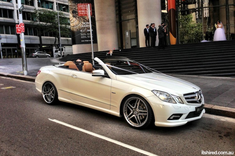 Mercedes E-Class Wedding Car Hire Sydney Luxury Wedding Cars Sydney
