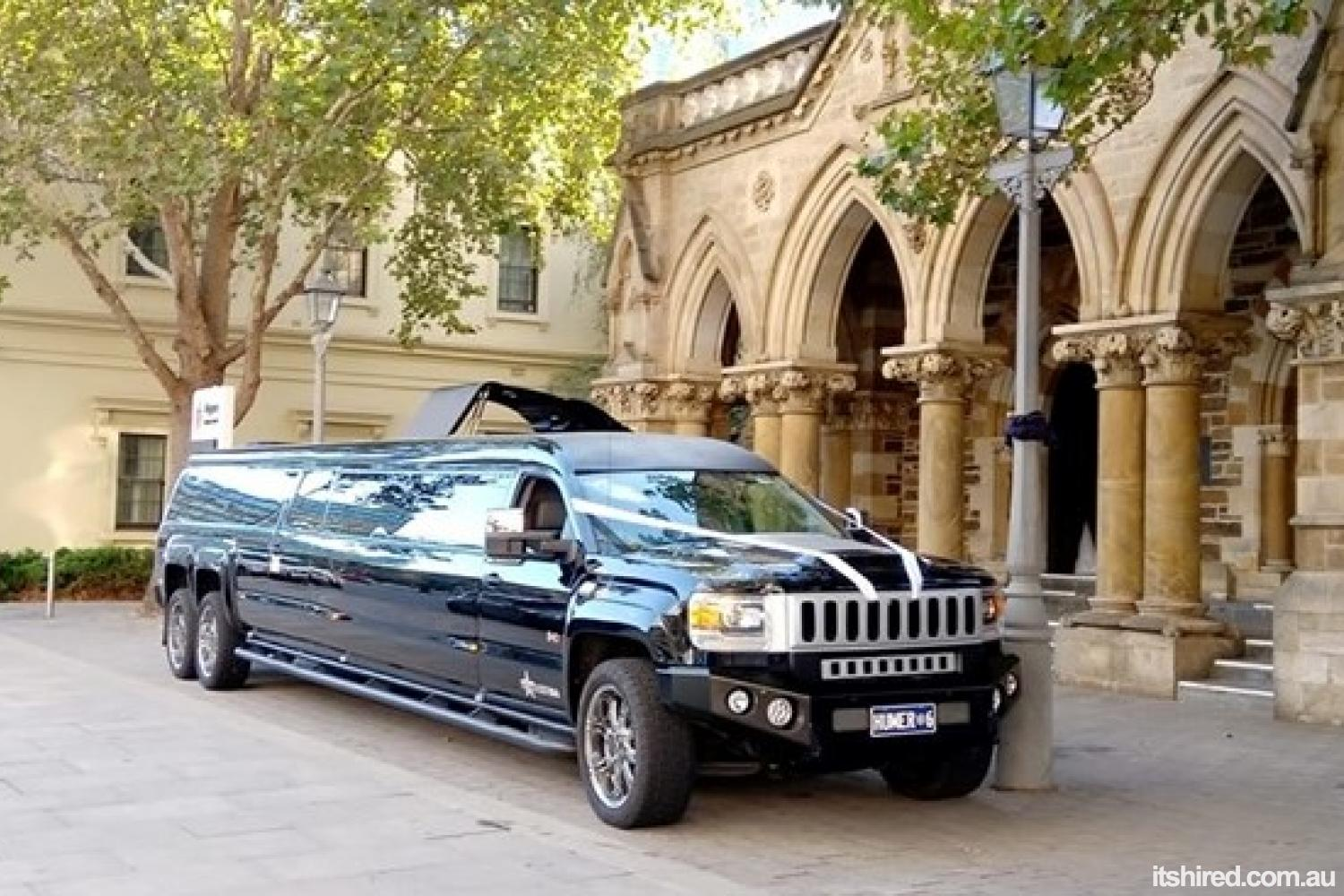 GMC Sierra Wedding Car Hire Adelaide Hummer SA