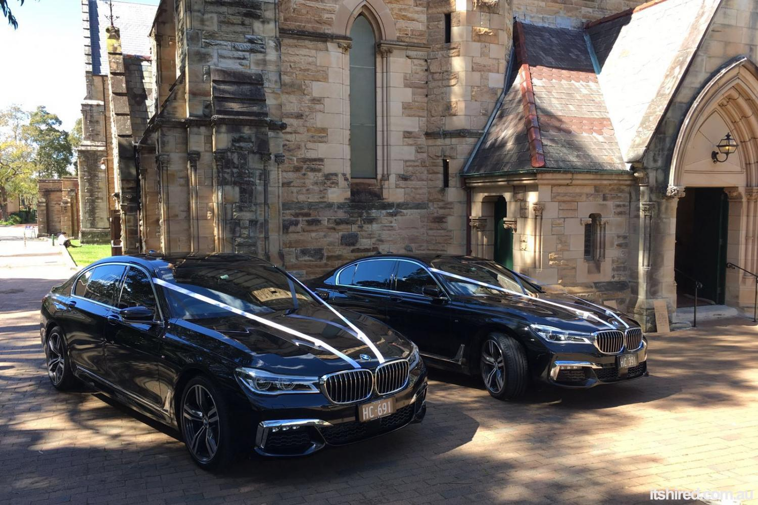 BMW 7 Series Wedding Car Hire Sydney Astra Wedding Cars