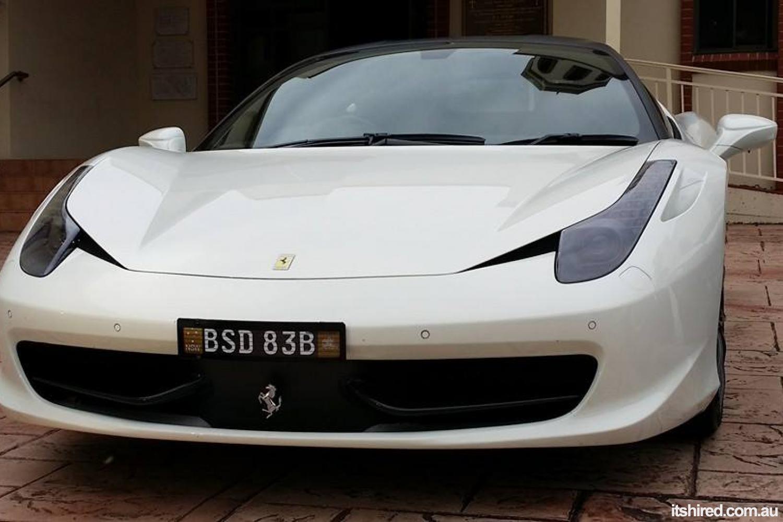 Ferrari 458 Italia Wedding Car Hire Sydney I Do Wedding Cars Sydney