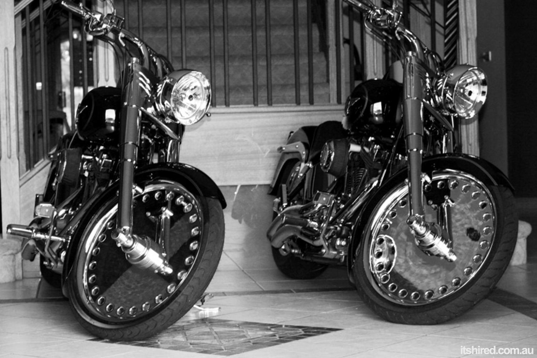Harley Davidson Other Wedding Car Hire Sydney DeBlanco Wedding Cars