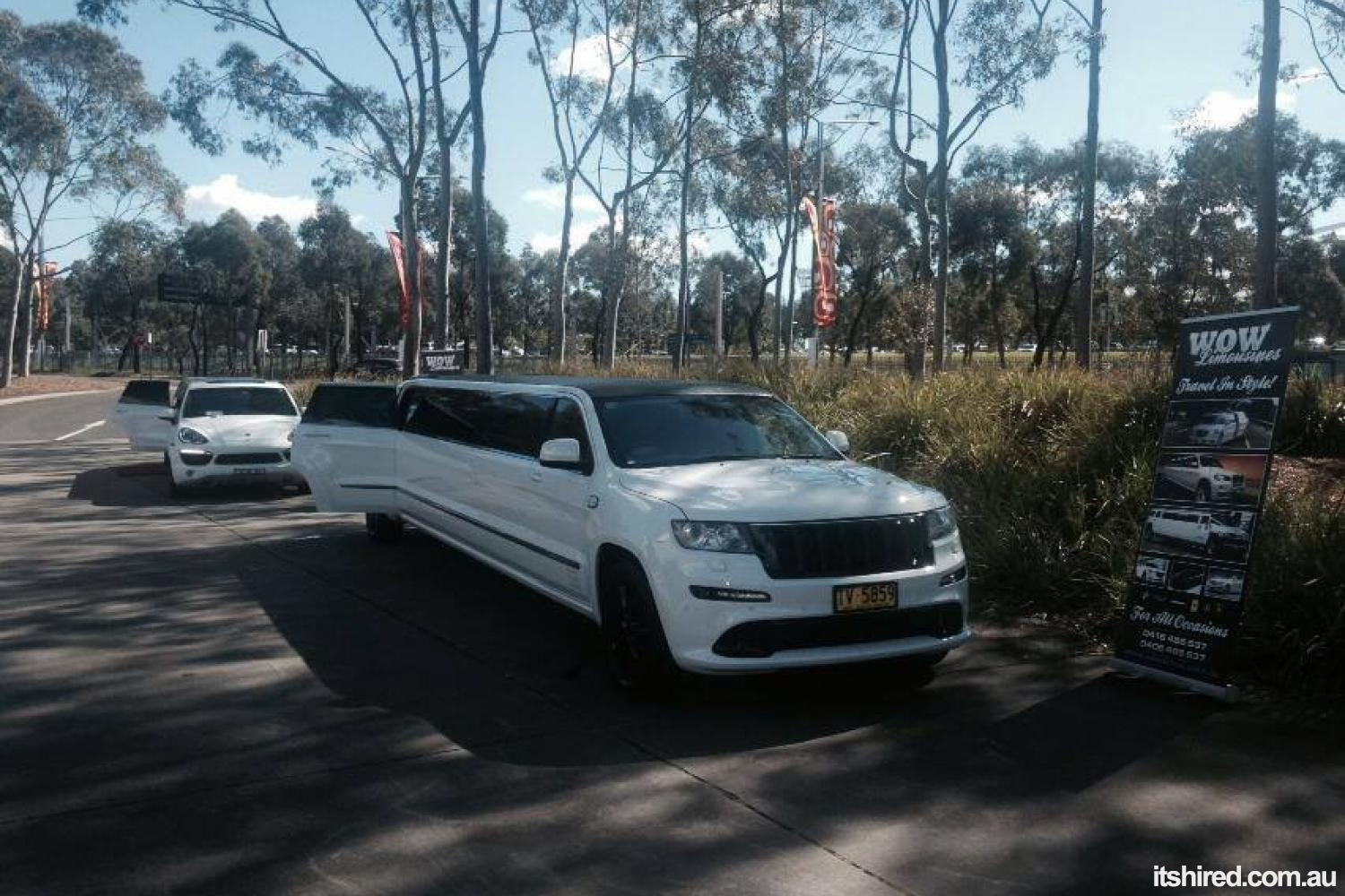Jeep Cherokee Wedding Car Hire Sydney WOW Limousines