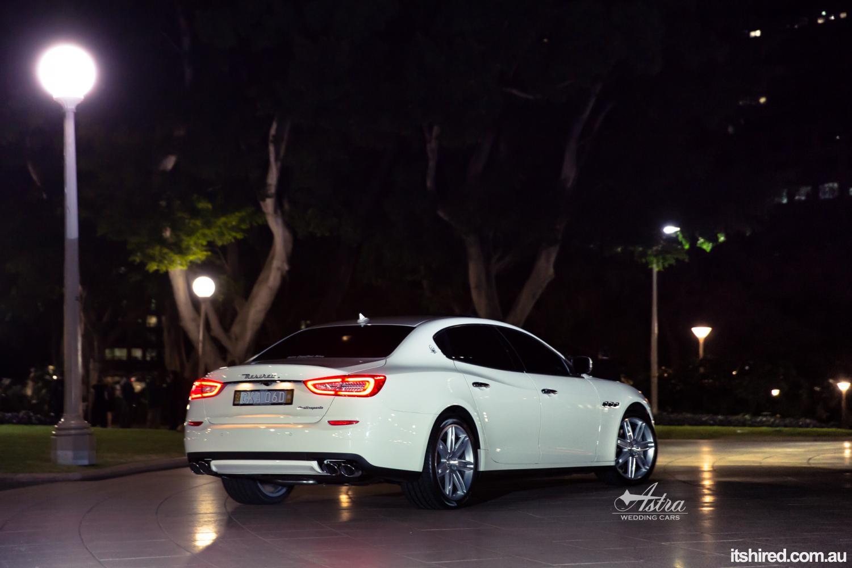 Maserati Quattroporte Wedding Car Hire Sydney Astra Wedding Cars