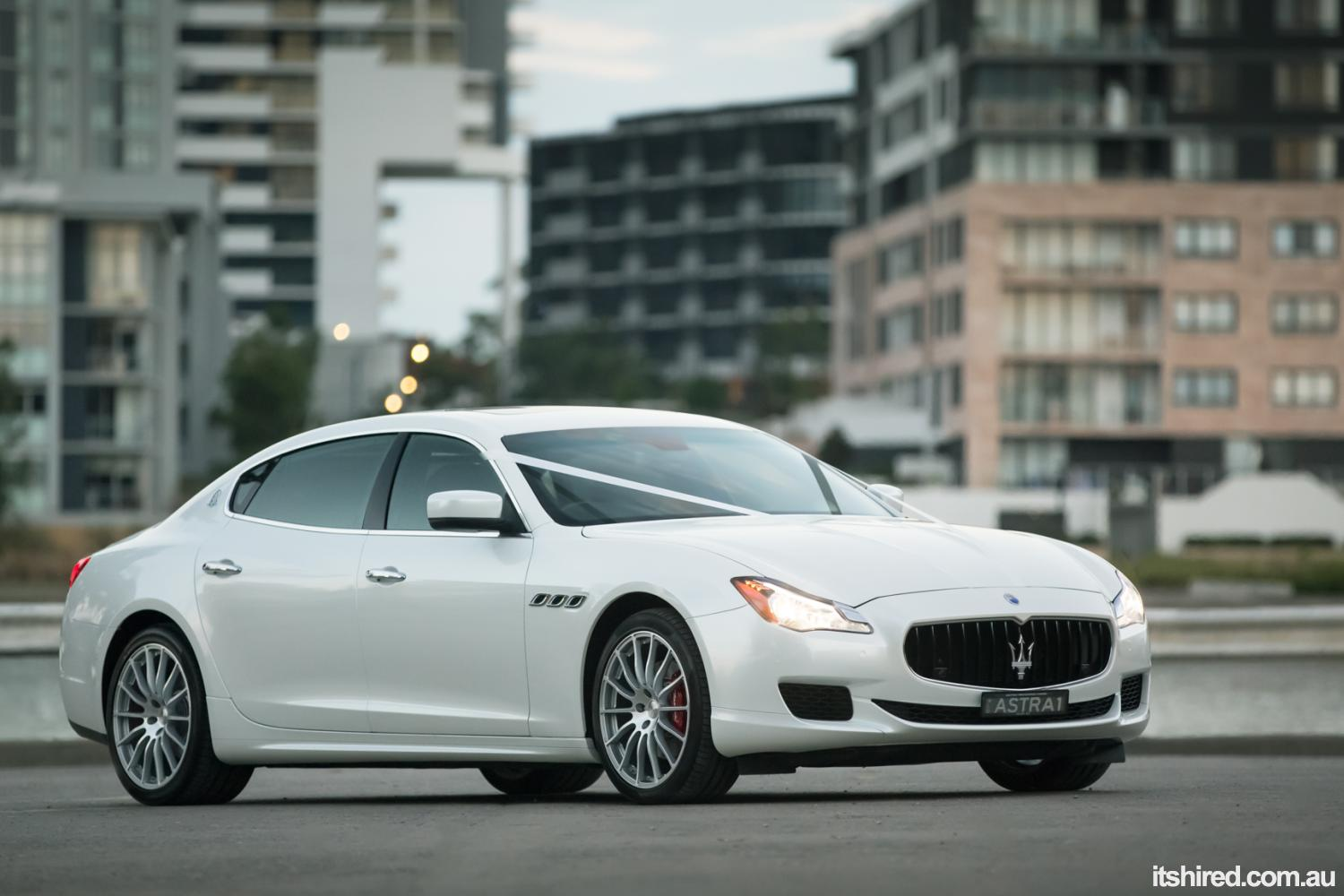 Maserati Quattroporte Wedding Car Hire Sydney Astra Wedding Cars
