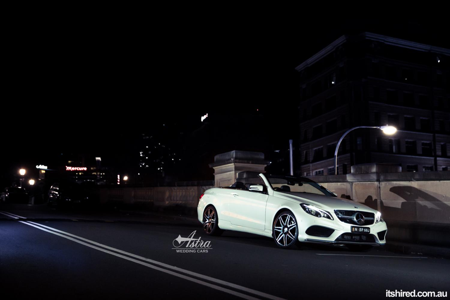 Mercedes E-Class Wedding Car Hire Sydney Astra Wedding Cars