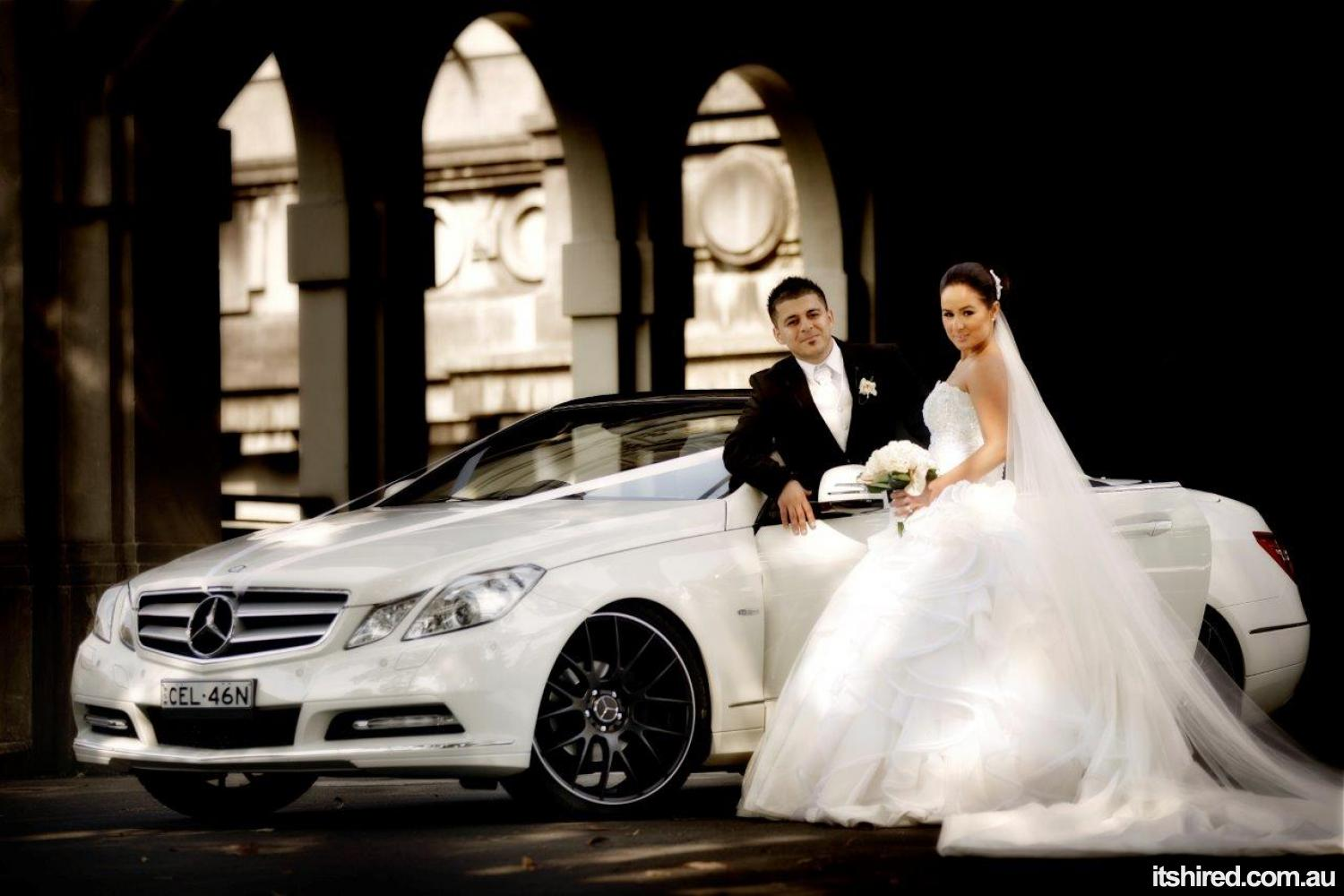Mercedes E-Class Wedding Car Hire Sydney WOW Limousines