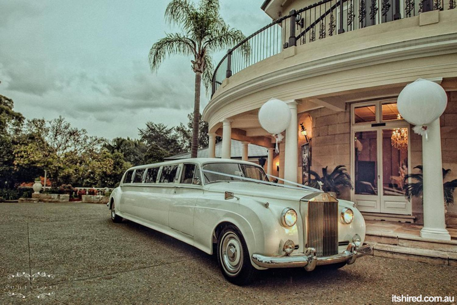 Rolls Royce Silver Shadow Wedding Car Hire Sydney Broadway Limousines