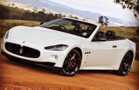 Maserati Grancabrio Wedding Car Hire Sydney WOW Limousines